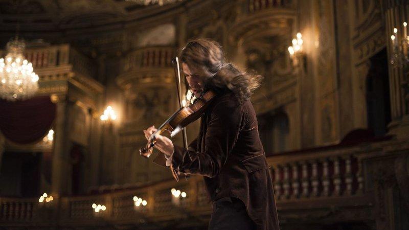 Foto dal film Il Violinista del Diavolo