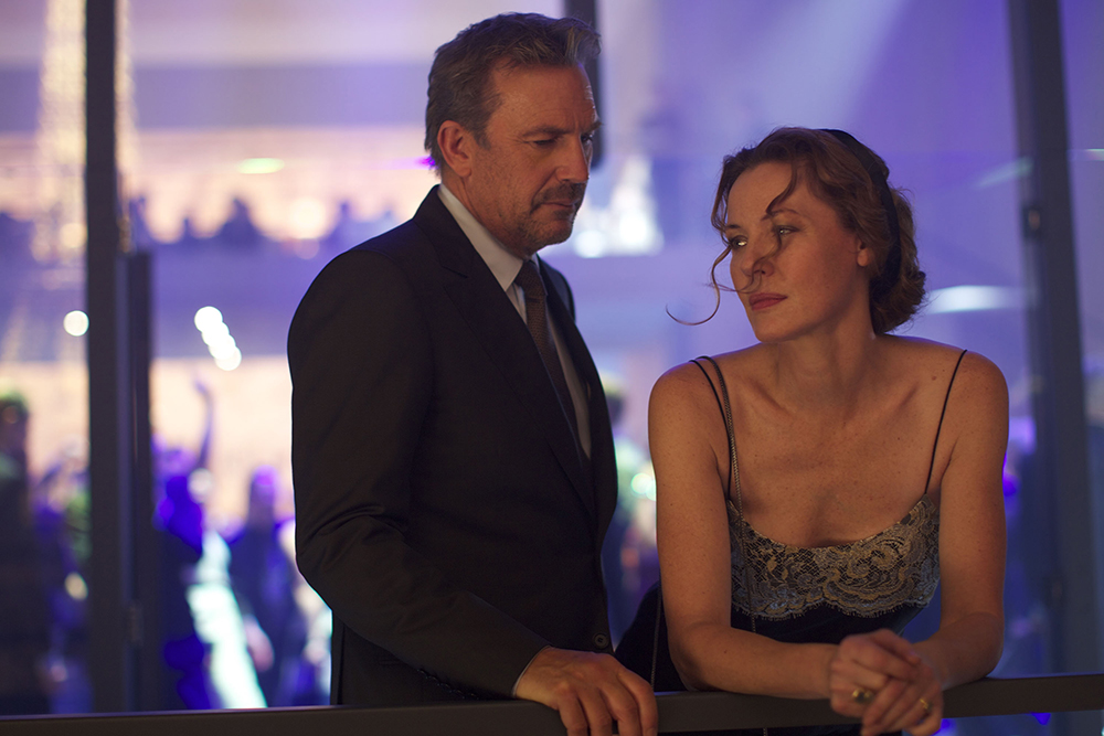 3 Days To Kill: Kevin Costner e Connie Nielsen