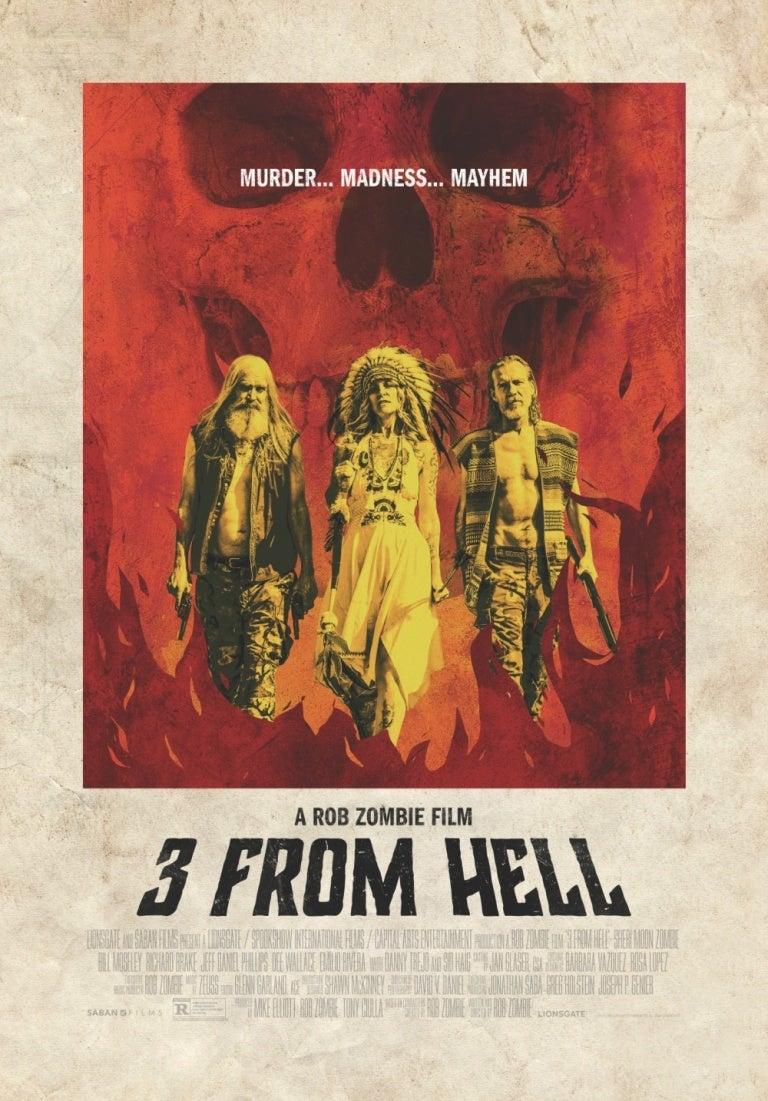 3 From Hell: Locandina
