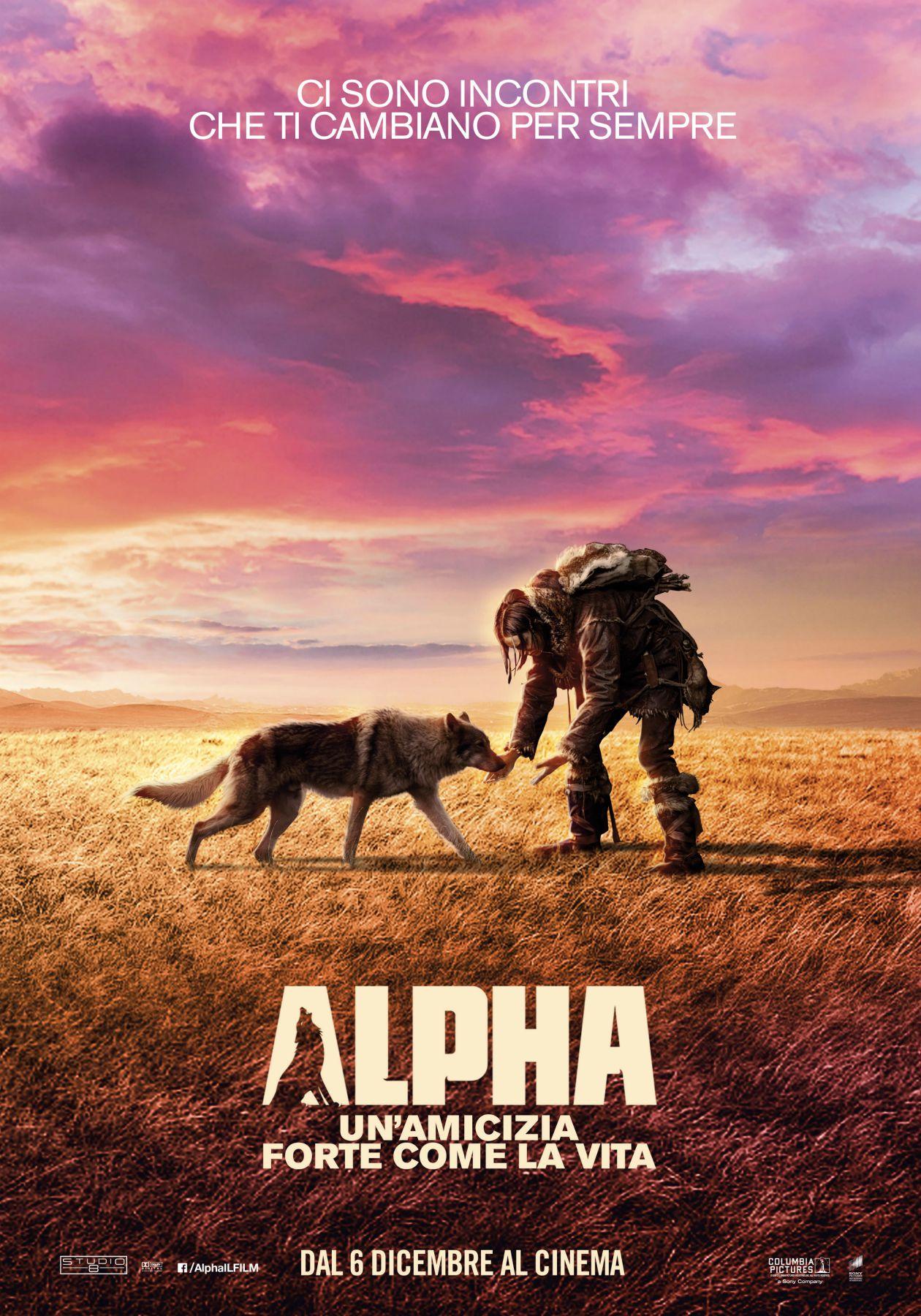 Locandina di Alpha: Un'amicizia forte come la vita