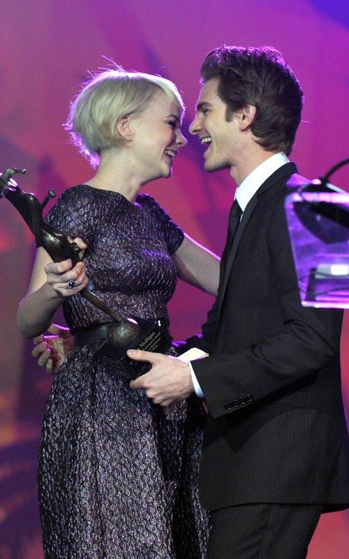 Andrew Garfield e Carey Mulligan al Palm Springs International Film Festival's 2011 Awards Gala