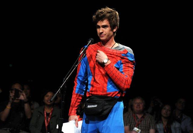 Andrew Garfield al Comic Con