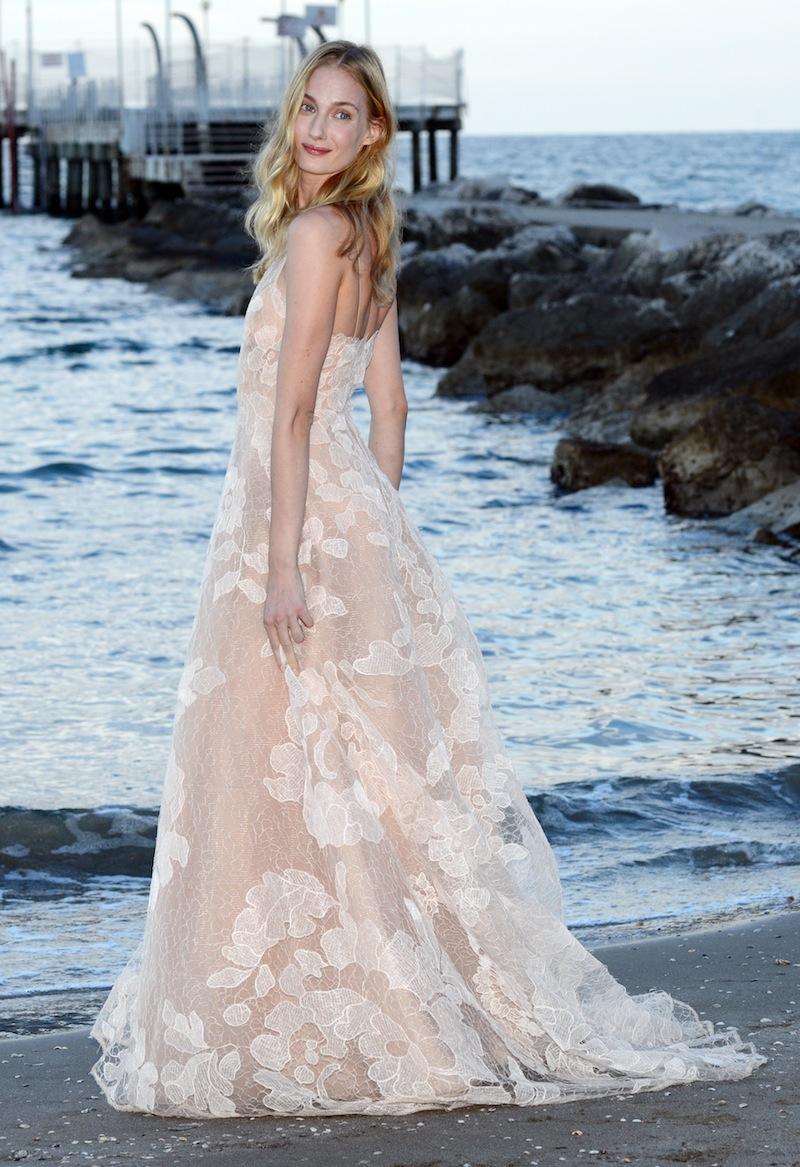 Eva Riccobono sulla spiaggia dell'Excelsior - Venezia 70