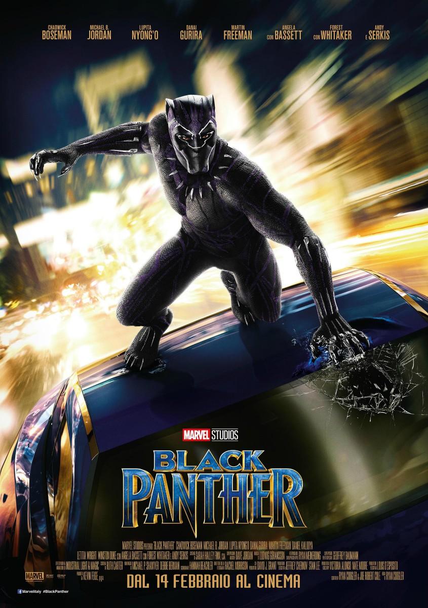 Locandina di Black Panther