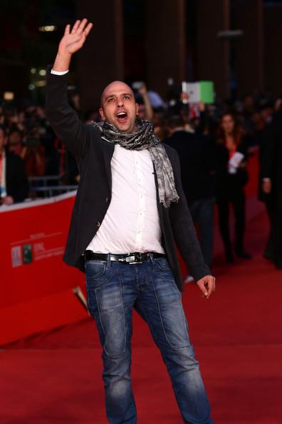 Checco Zalone sul red carpet del Festival di Roma