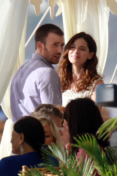 Chris Evans e Michelle Monaghan sul set di A Many Splintered Thing - 3