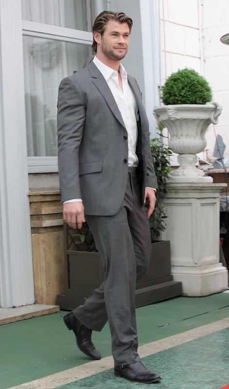 Chris Hemsworth alla presentazione di Thor a Roma - 15 Aprile 2011