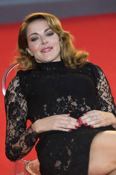 Claudia Gerini al Festival del Film di Roma