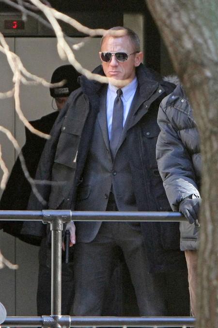 007 - Skyfall: nuove foto di Daniel Craig sul set