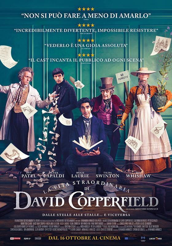 Locandina di La vita straordinaria di David Copperfield