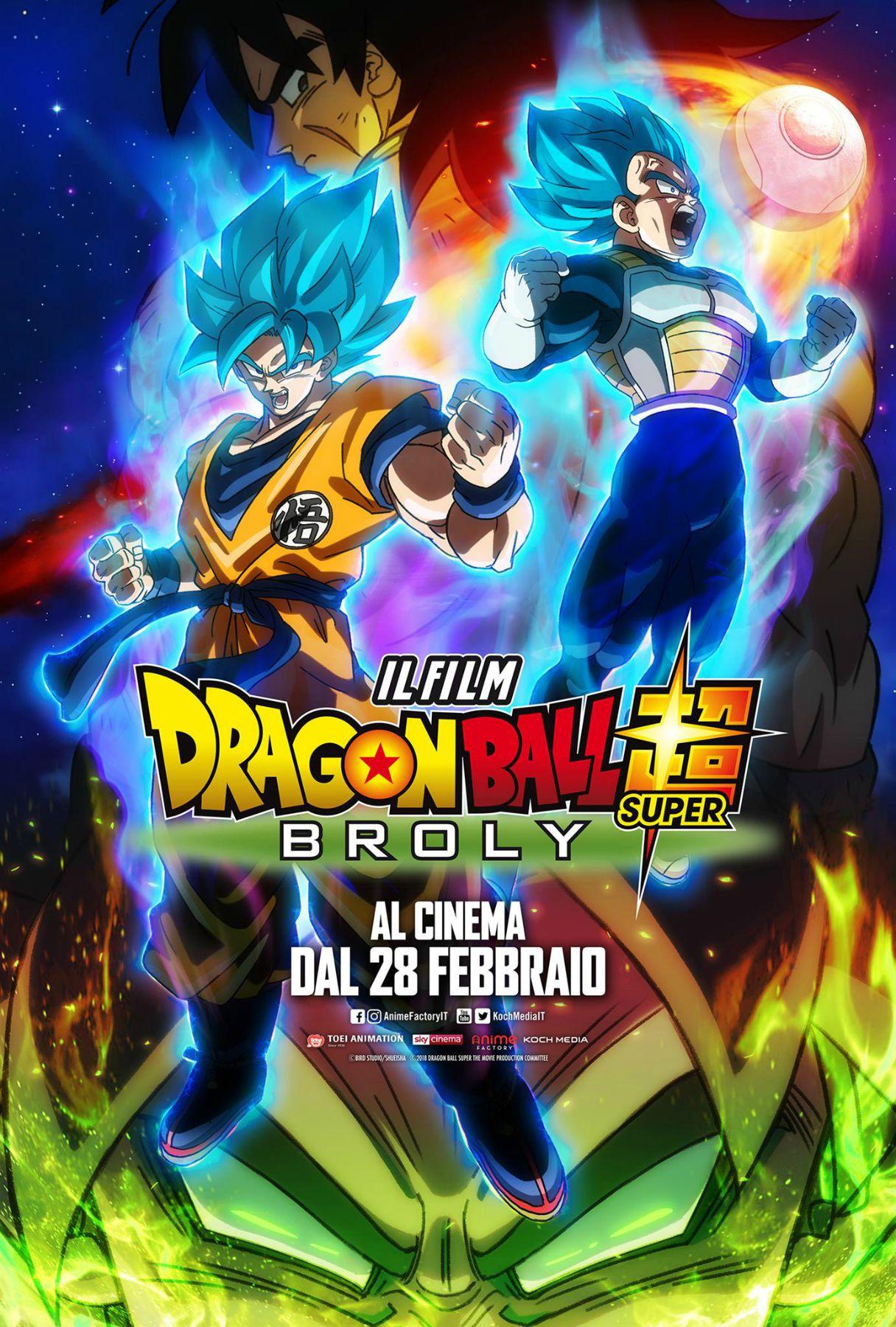 Locandina di Dragon Ball Super: Broly