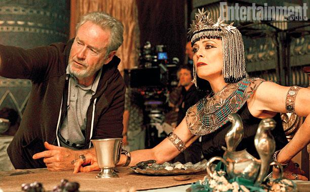 Exodus: Gods and Kings: Sigourney Weaver e Ridley Scott