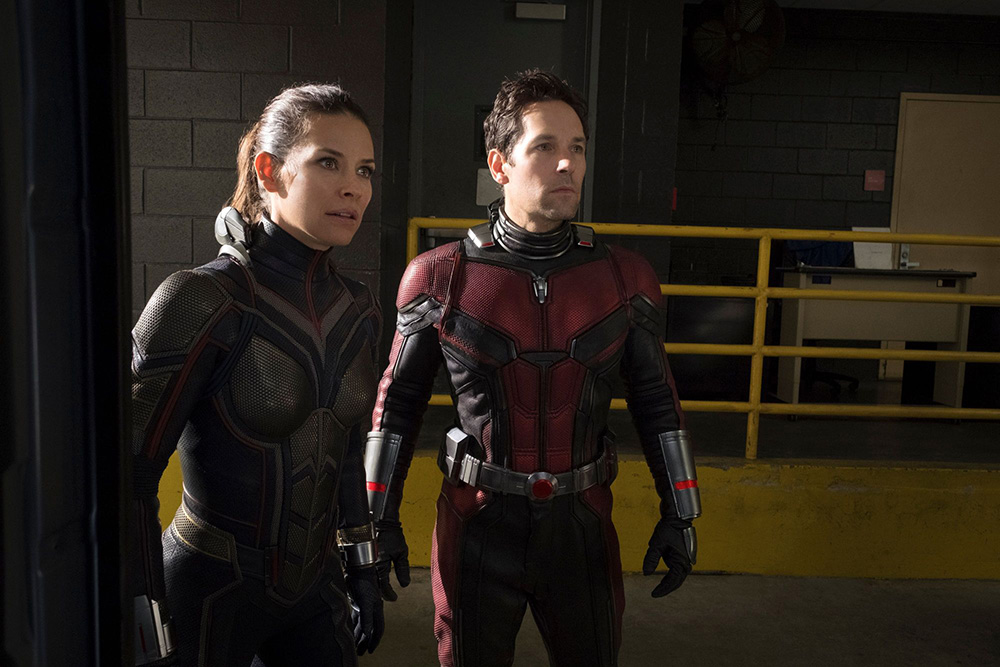Ant-Man and the Wasp: Paul Rudd ed Evangeline Lilly