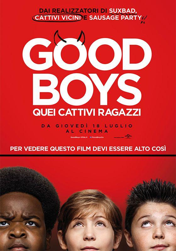 Locandina di Good Boys - Quei cattivi ragazzi