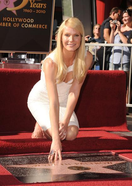 Gwyneth Paltrow riceve la stella sulla passeggiata delle Star a Hollywood