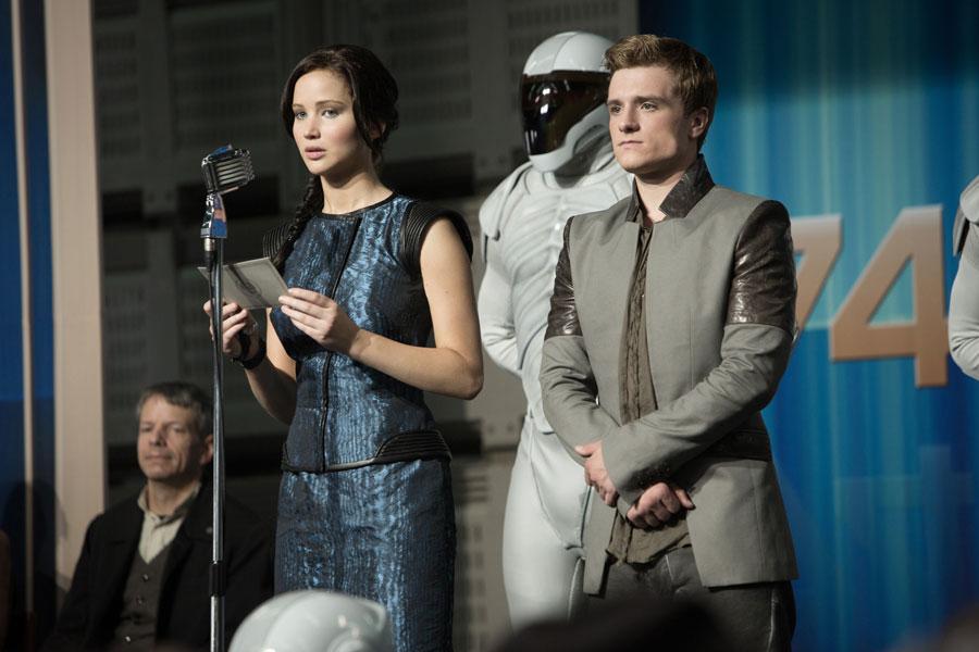 Hunger Games: La Ragazza di Fuoco - Jennifer Lawrence e Josh Hutcherson
