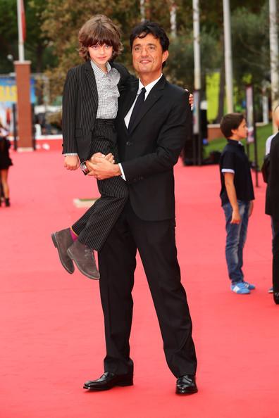 Il Mio Papà: il red carpet con Giulio Base e Niccolo Calvagna