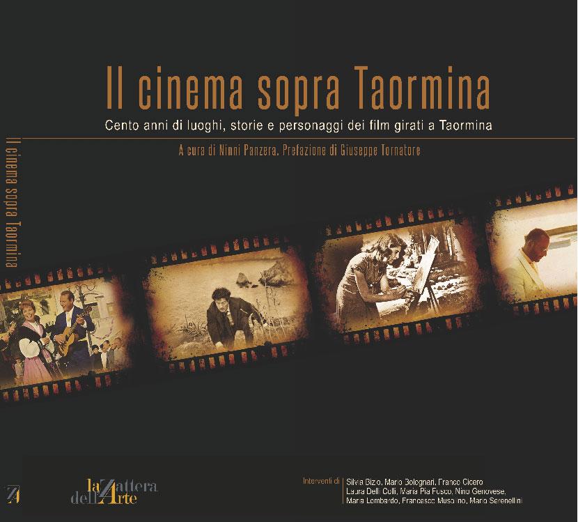 Copertina di Il cinema sopra Taormina di Ninni Panzera