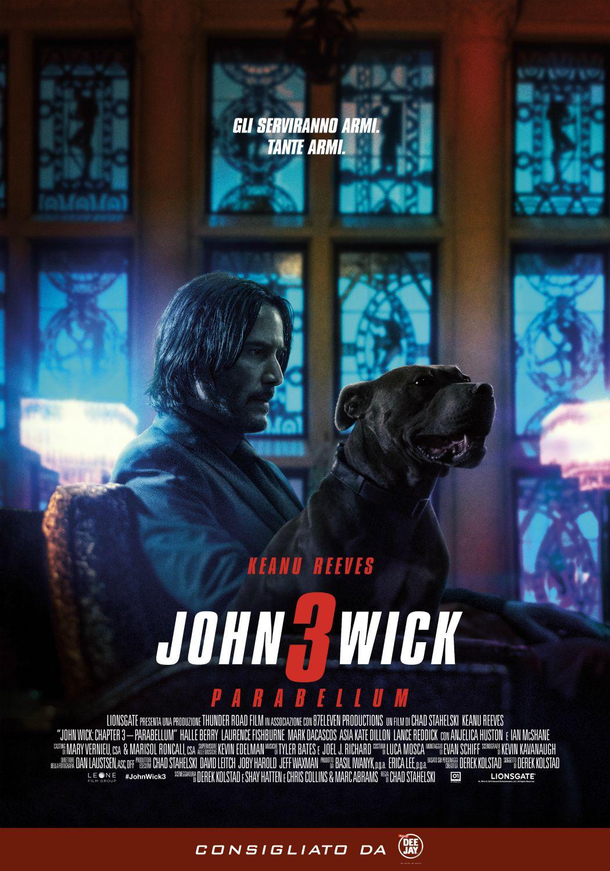 Locandina di John Wick 3 - Parabellum