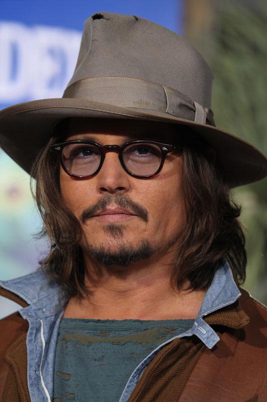 Johnny Depp alla premiere di RANGO a Los Angeles