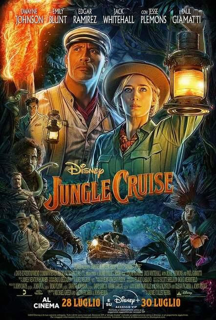 Locandina di Jungle Cruise