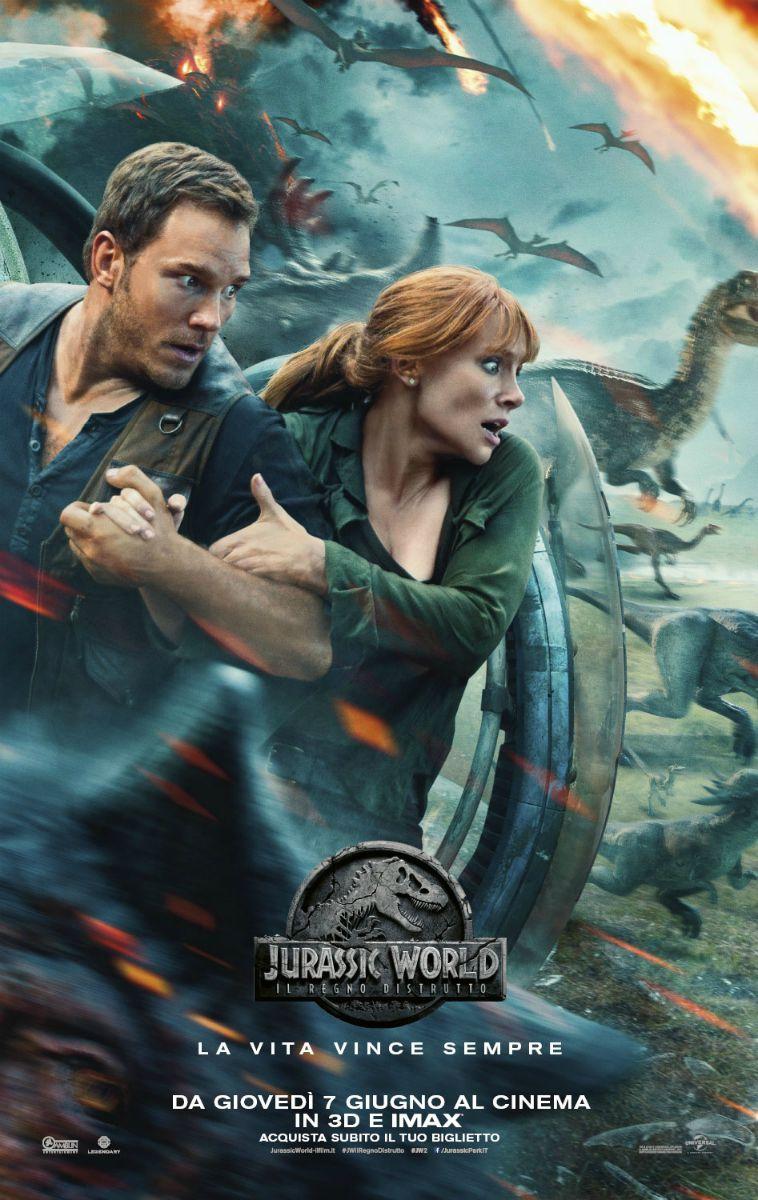 Locandina di Jurassic World: Il regno distrutto