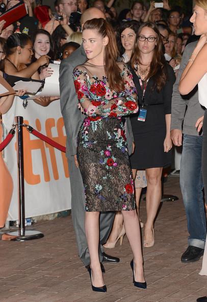 Kristen Stewart a Toronto per la premiere di On The Road - 2