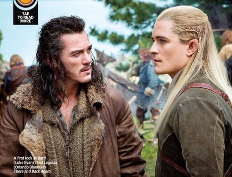 Lo Hobbit: La desolazione di Smaug - Orlando Bloom e Luke Evans