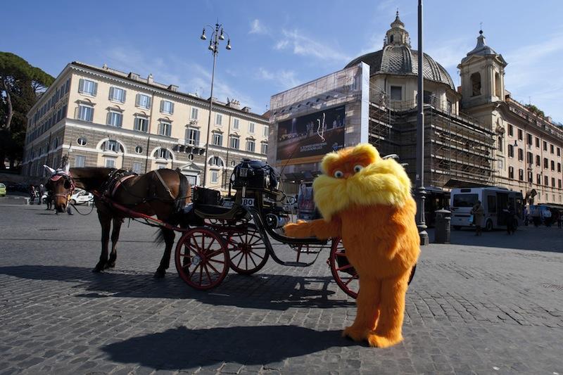 Il Lorax a Roma
