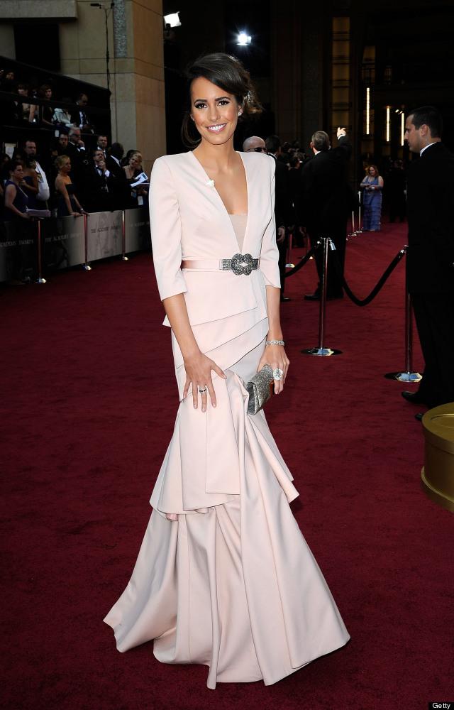 Oscar 2012: Louise Roe sul Red Carpet