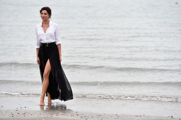 Luisa Ranieri al Lido per il photocall di Venezia 71
