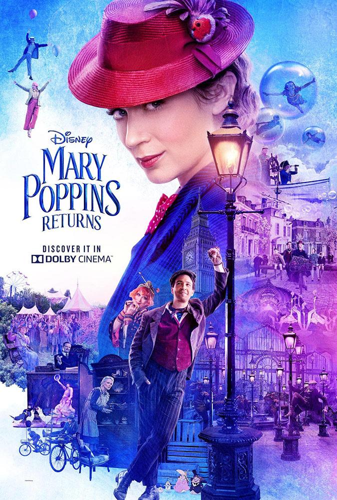 Il Ritorno di Mary Poppins: Locandina
