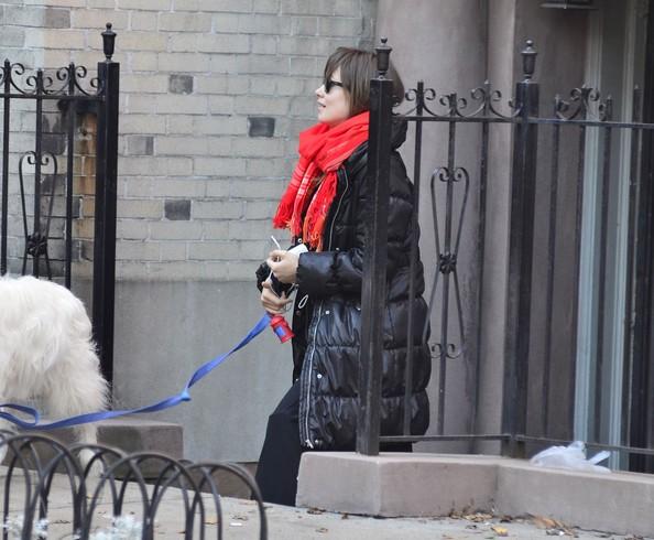Olivia Wilde a spasso col cane a New York