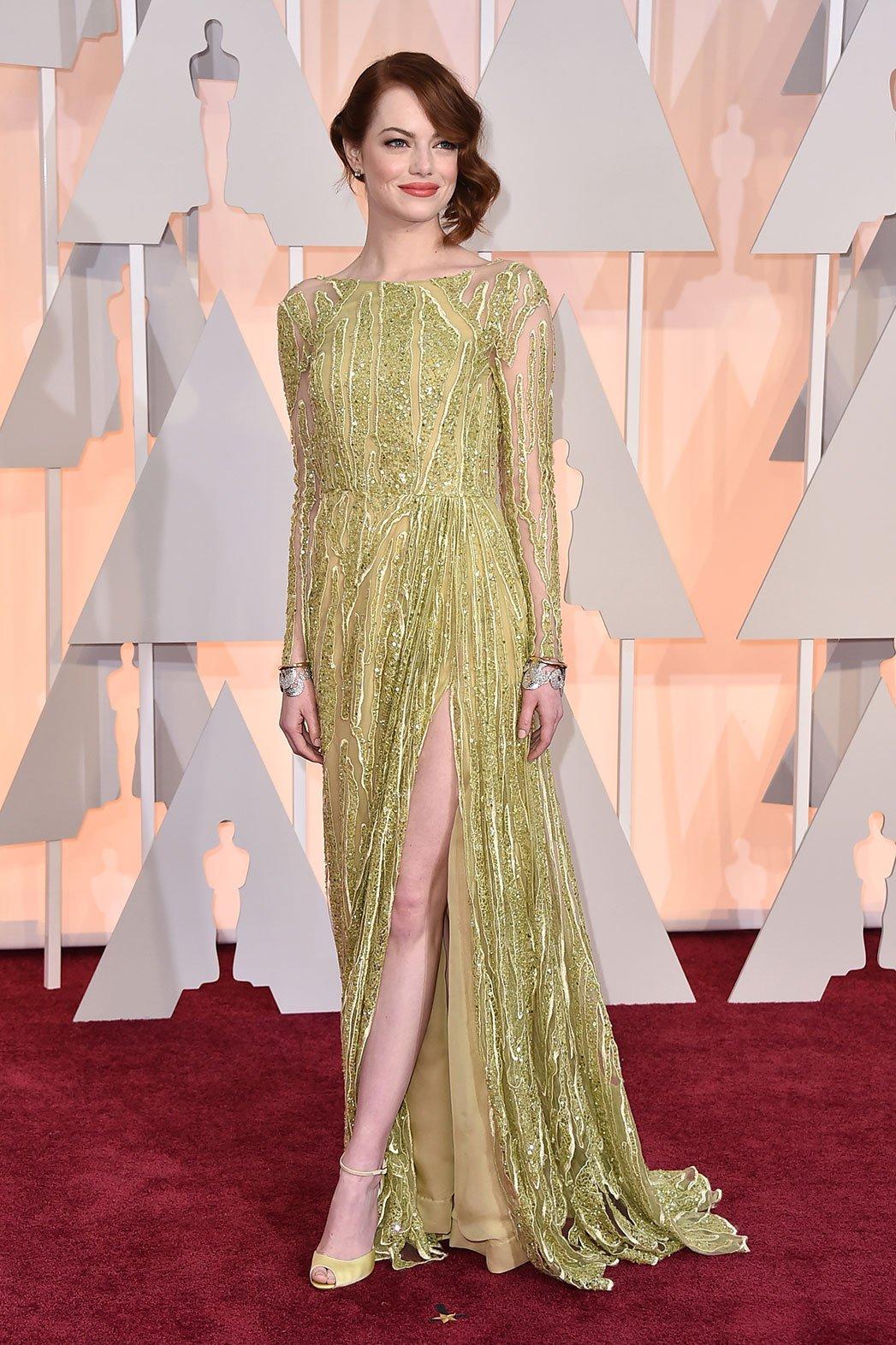 Oscar 2015: Emma Stone - Foto, scene, backstage, locandine ...