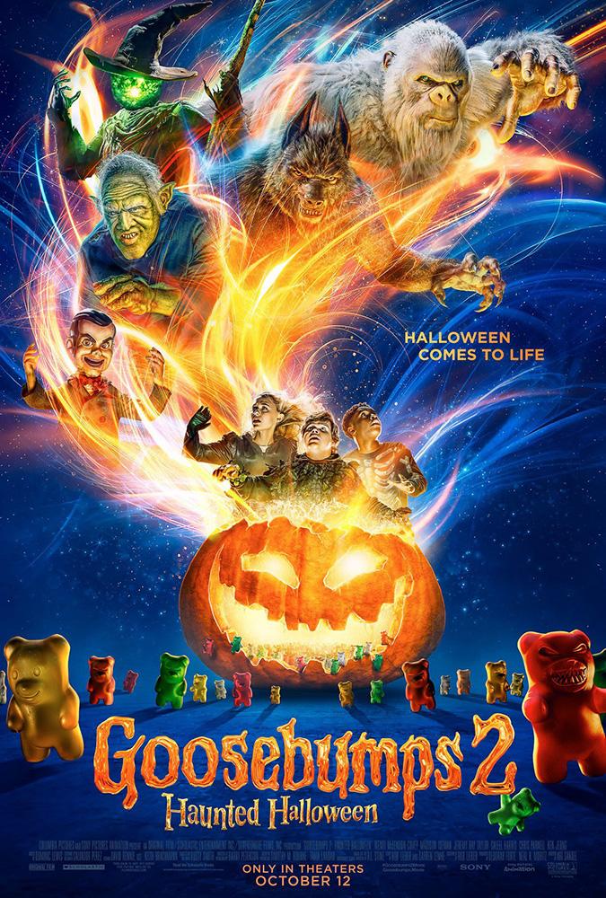 Piccoli Brividi 2: I Fantasmi di Halloween: locandina