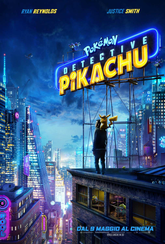 Locandina di Pokémon: Detective Pikachu