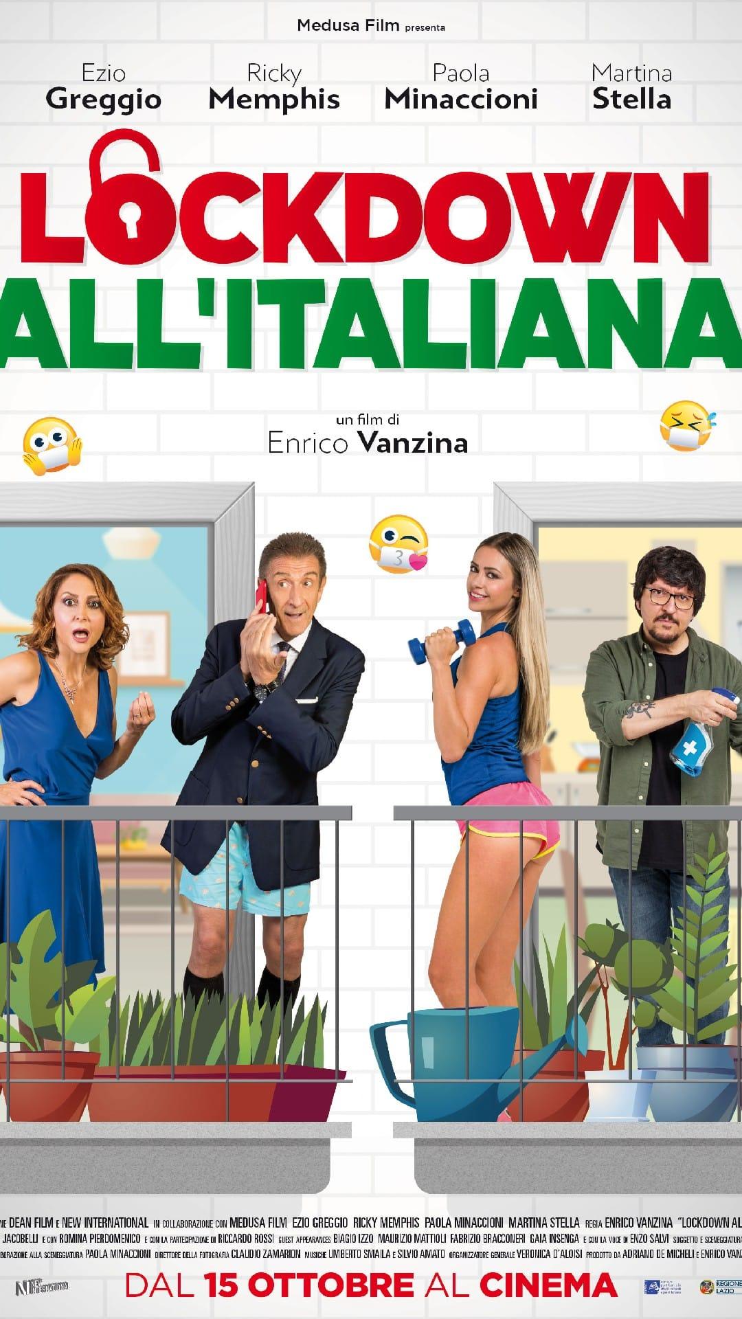 Lockdown all'Italiana: Locandina