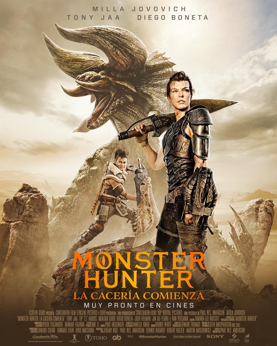 Monster Hunter: Locandina