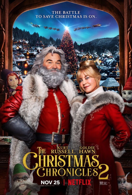 Qualcuno Salvi il Natale 2: Locandina