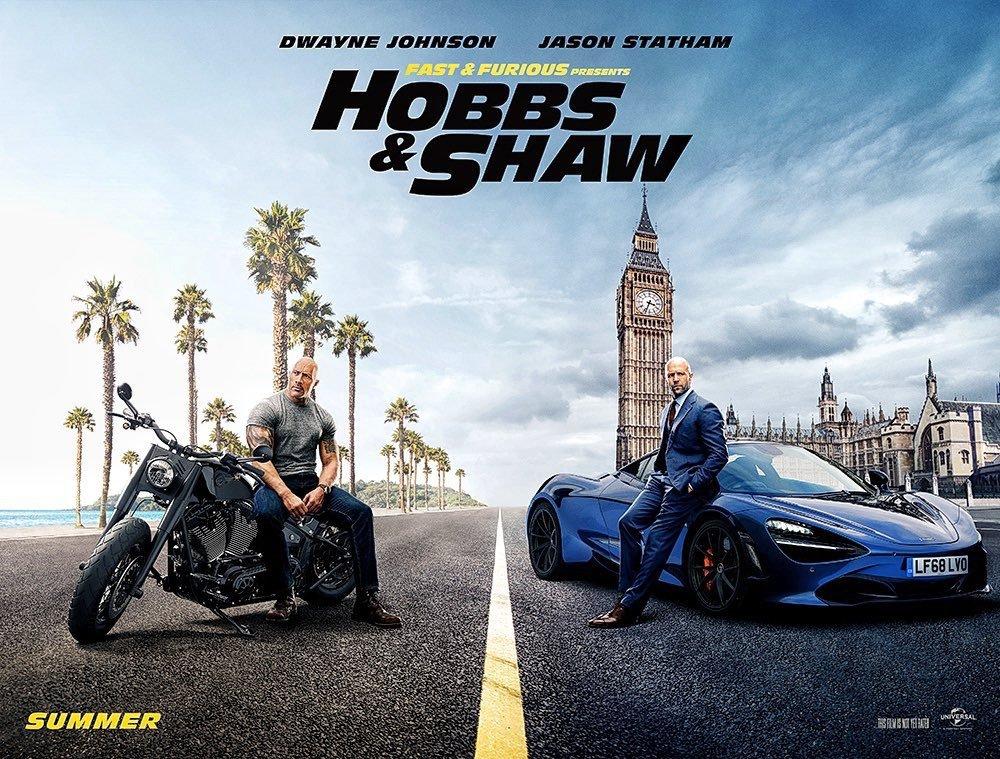 Hobbs & Shaw: Locandina