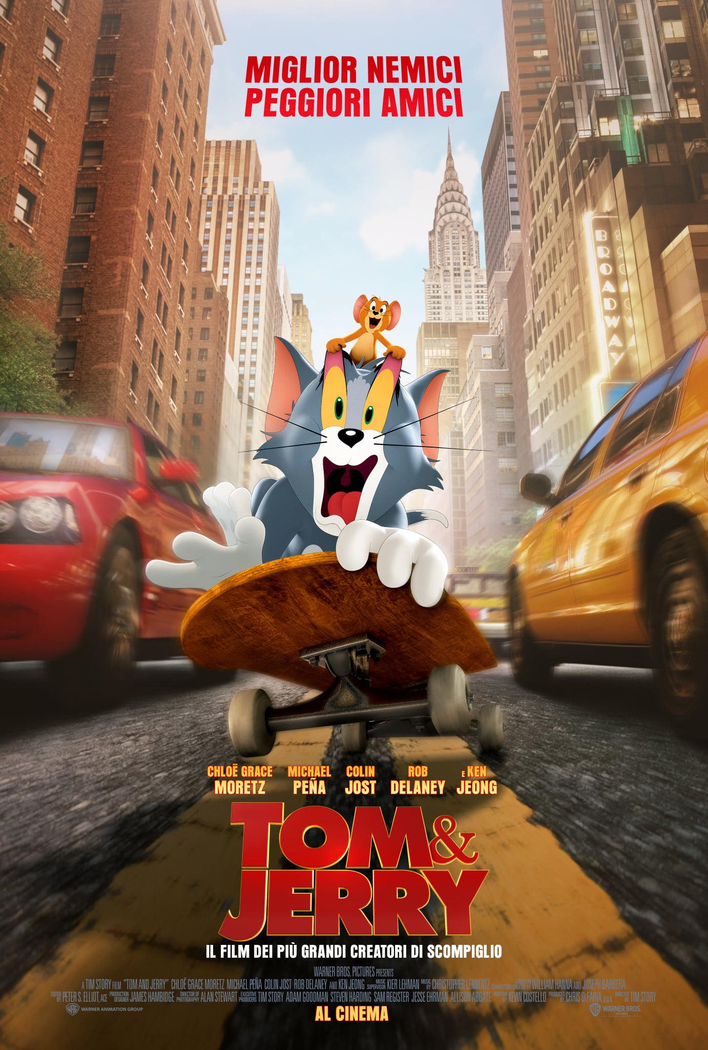 Tom & Jerry: Locandina