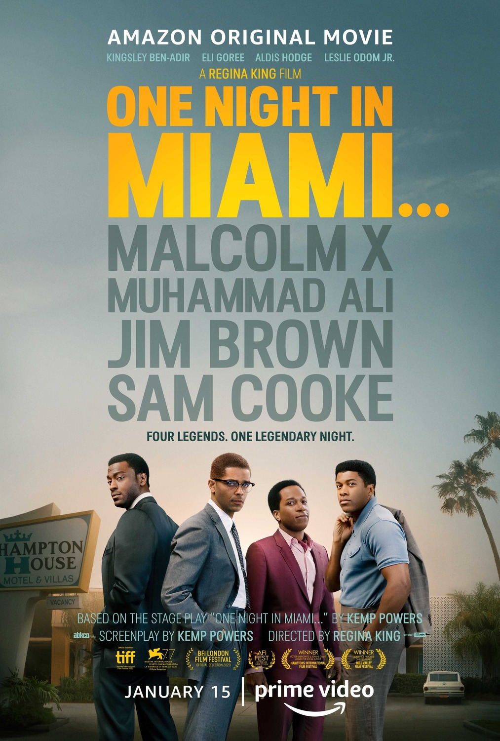 One Night in Miami: Poster