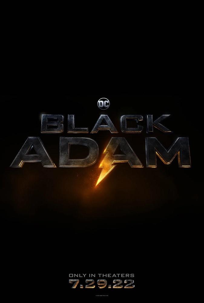 Black Adam: Poster