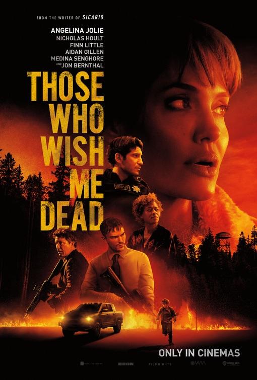 Those Who Wish Me Dead: Locandina
