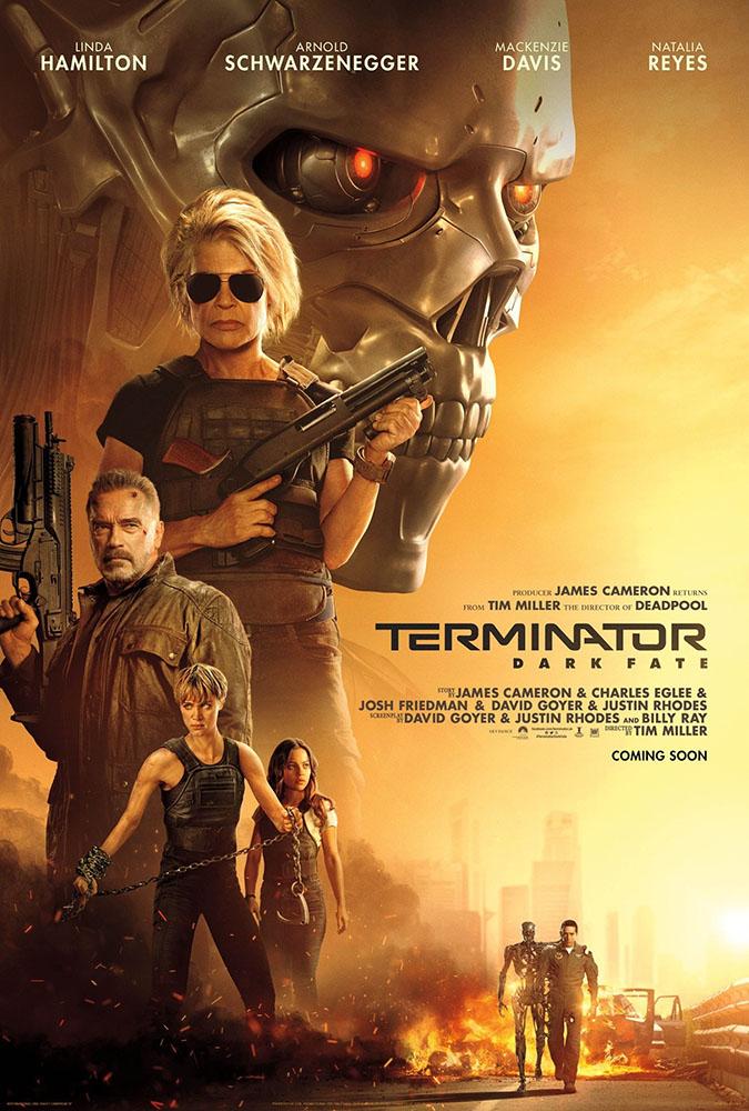 Terminator: Destino Oscuro: Locandina
