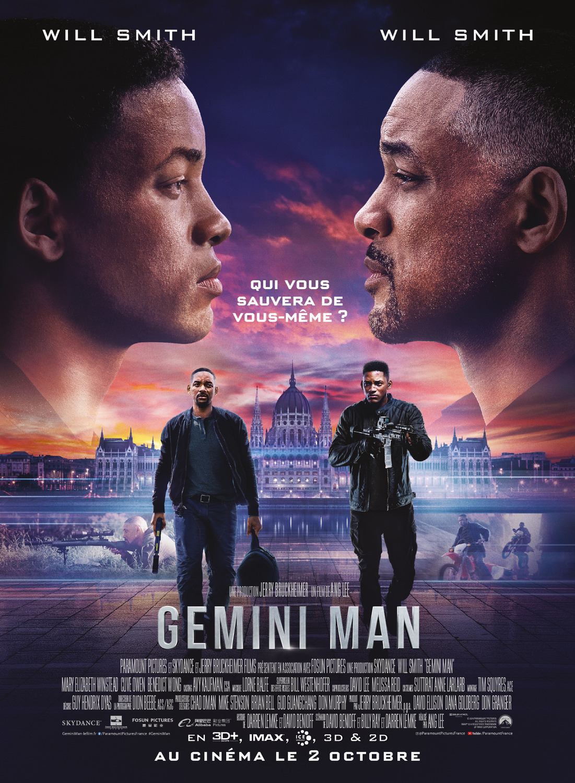 Gemini Man: Locandina