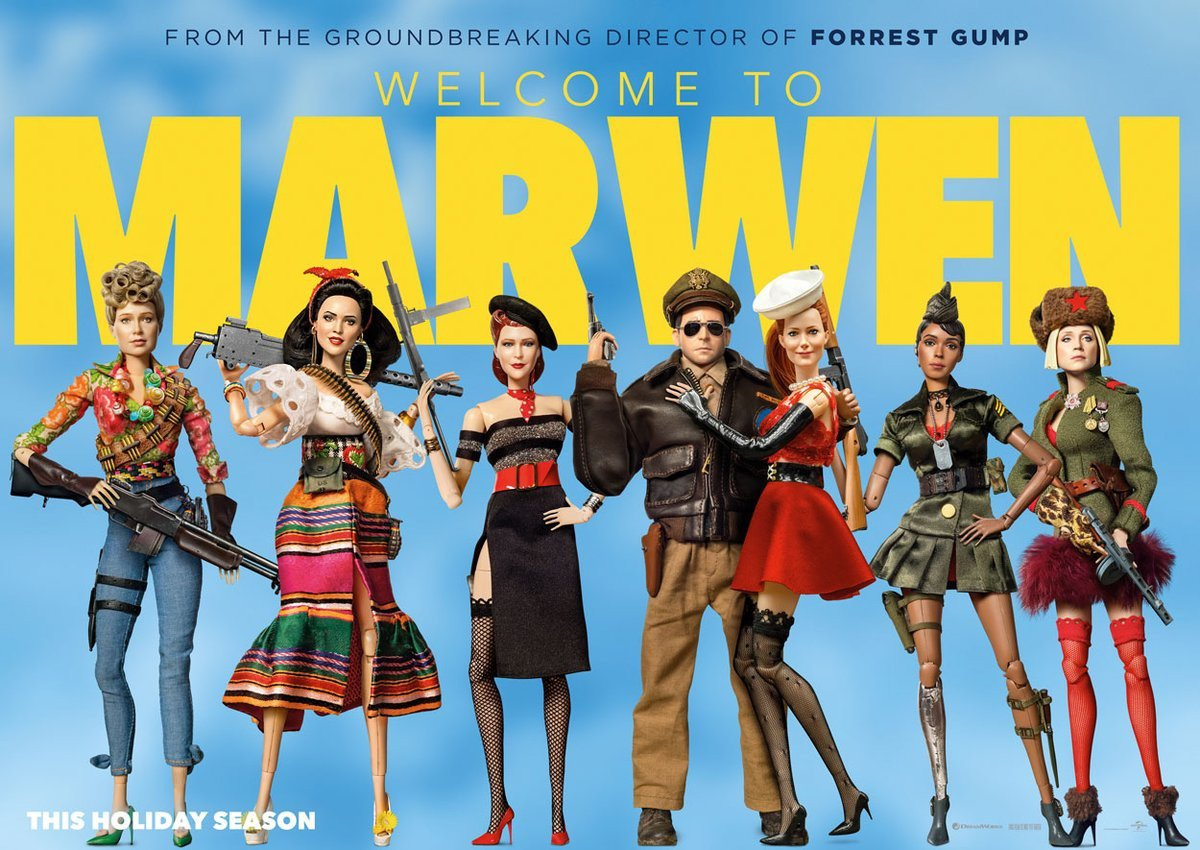 Benvenuti a Marwen: Locandina
