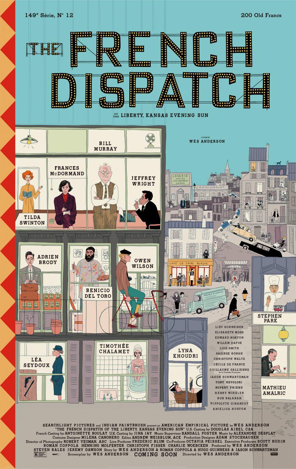The French Dispatch: Locandina