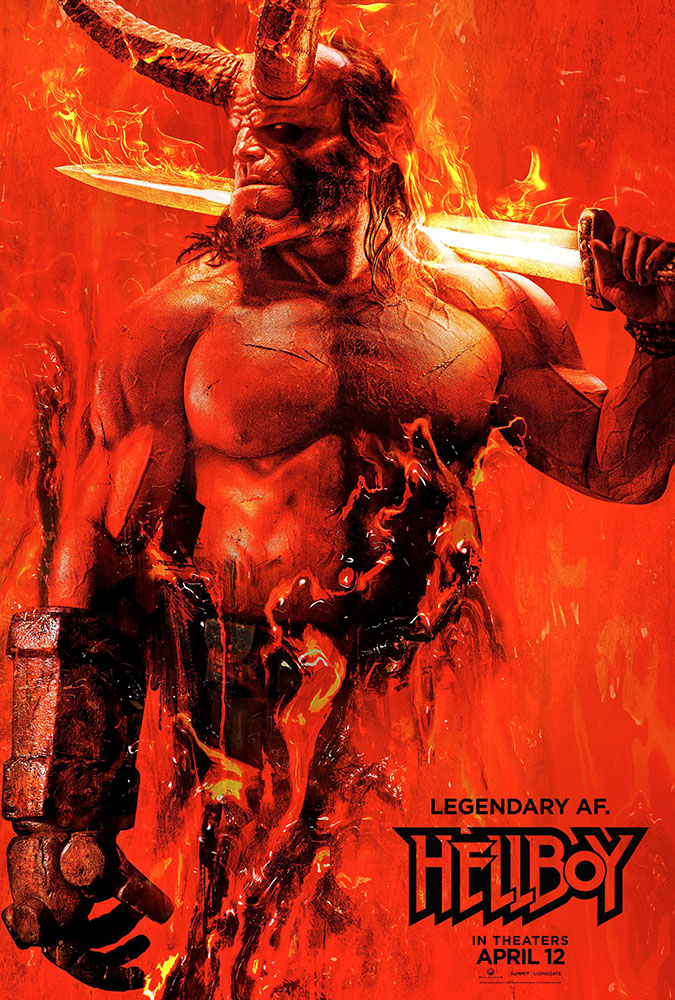 Hellboy: il poster internazionale