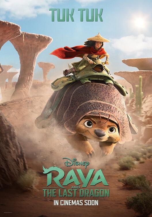 Raya e l'ultimo drago: Locandina